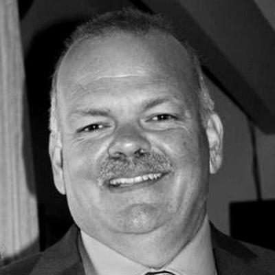 Disruptor-speaker Brian Cotter BW