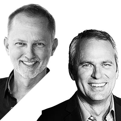 Disruptor-speaker – Ryan Markewich and Steve Baker BW